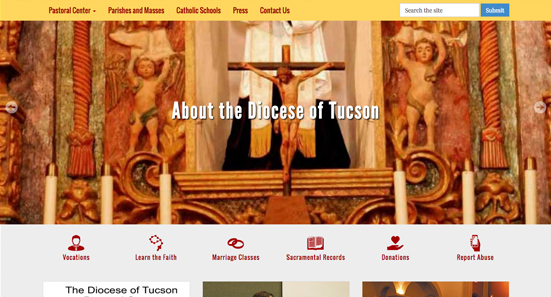 Diocese of Tucson Link