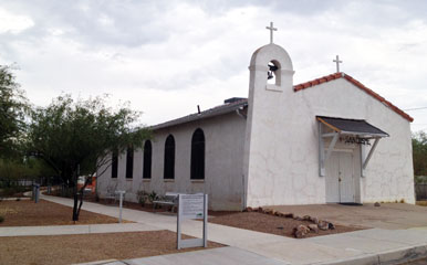 San Cosme Chapel of Tucson
